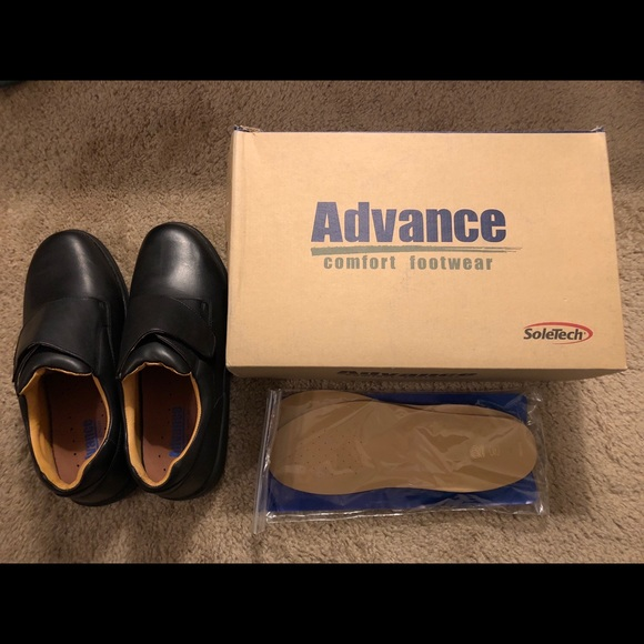 unequal in performance browse latest collections clear and distinctive Men's Advance Comfort Velcro Shoes, Size 12XW Wide